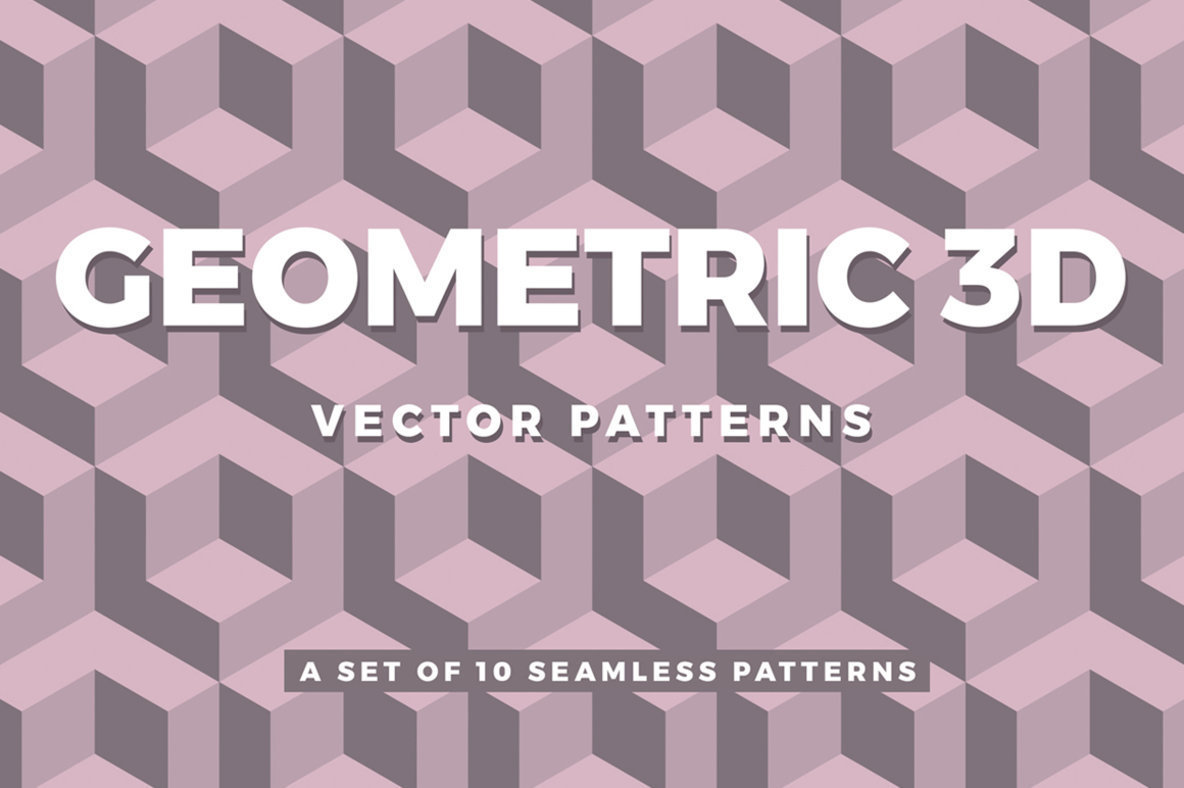 1184x788 Geometric 3d Patterns