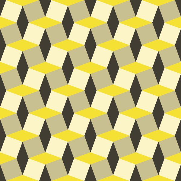 600x600 Geometric Pattern Vector Graphic Decoration, Wallpaper, Seamless