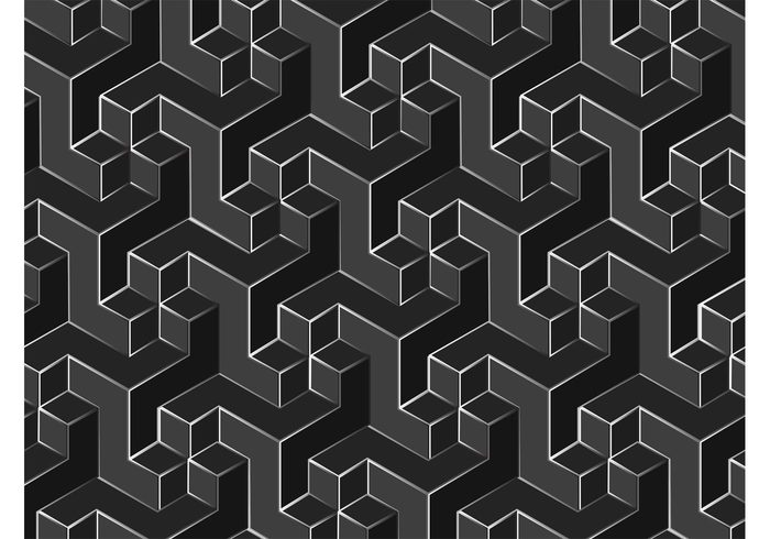 700x490 Geometric Vector Pattern 103992