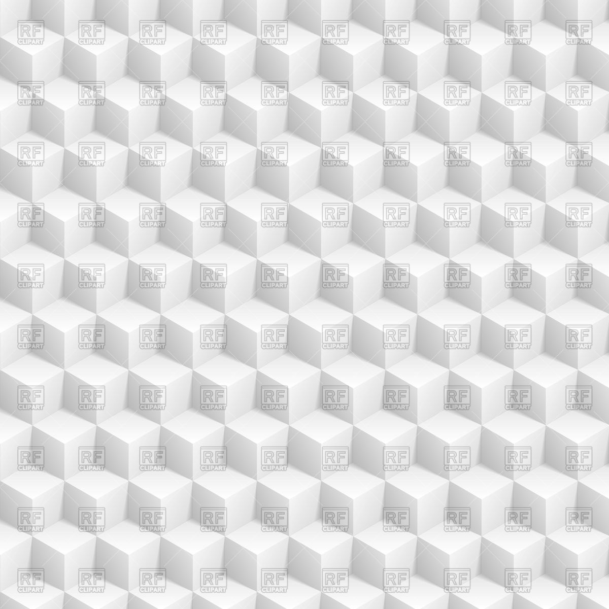 1200x1200 Grey Abstract 3d Cubes Pattern Vector Image Vector Artwork Of