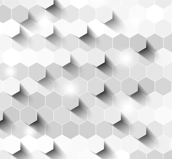 600x555 Hexagon 3d Background Free Vector In Adobe Illustrator Ai ( .ai