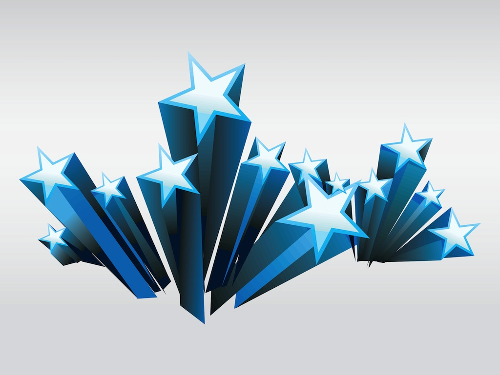1024x769 19 Star Vector Art Free Images