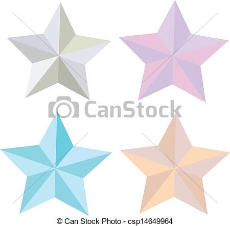 450x443 Star. Collection Of 3d Star Illustration, Vector.