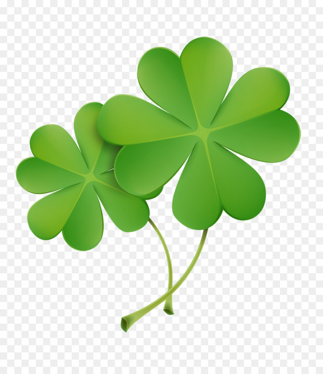 1080x1248 Png Four Leaf Clover Icon Green Clover Vector Arenawp