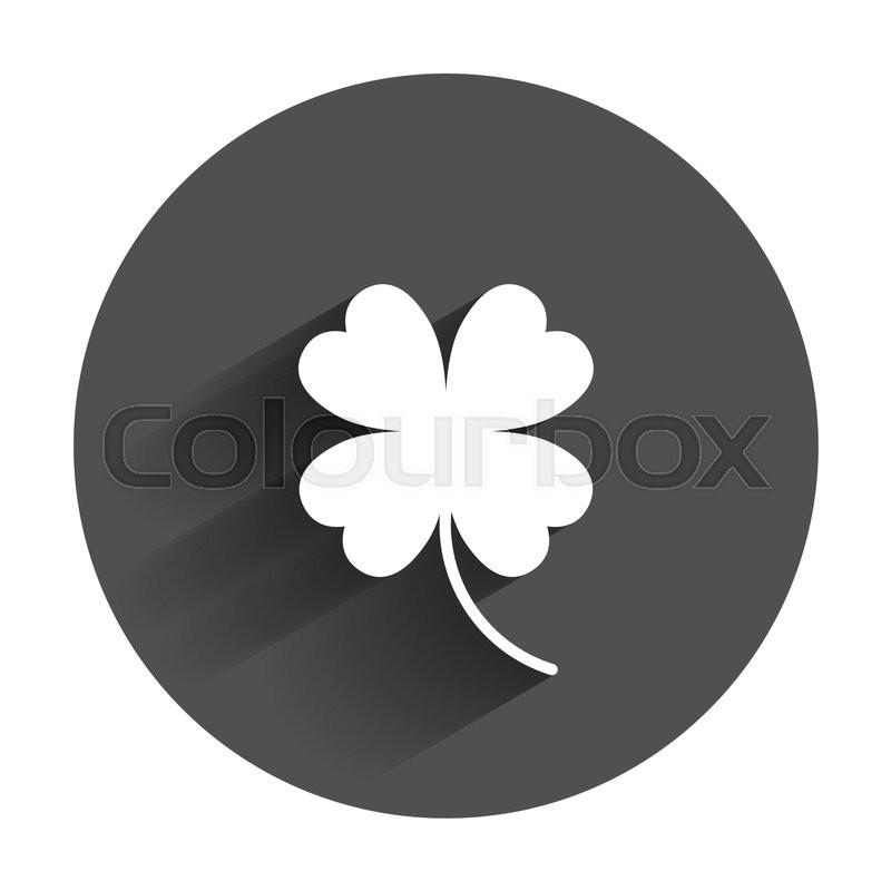 800x800 800px Four Leaf Clover Vector