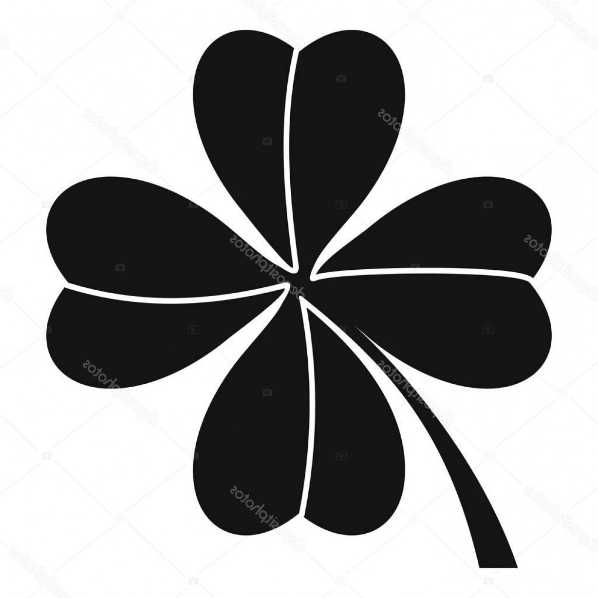1228x1228 Three Leaf Clover Vector Arenawp