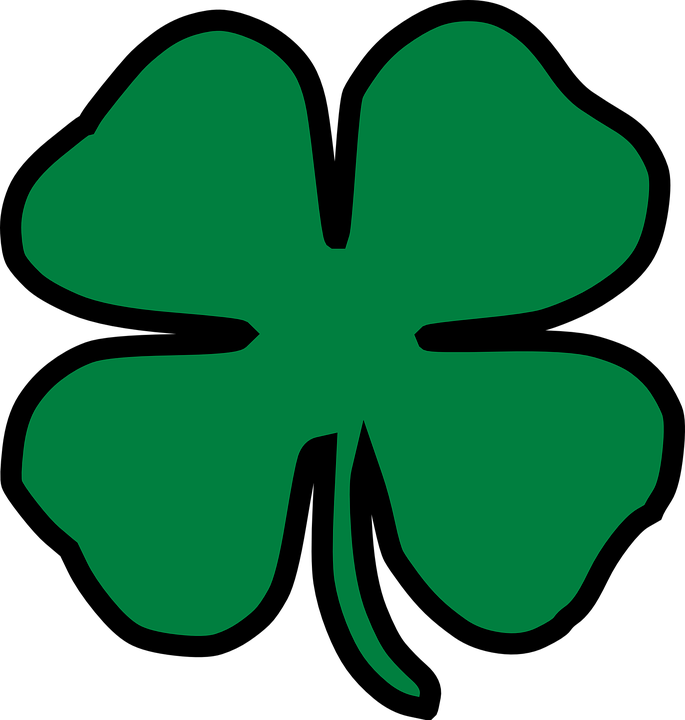 685x720 Collection Of Free Clover Vector Four Leaf. Download On Ubisafe