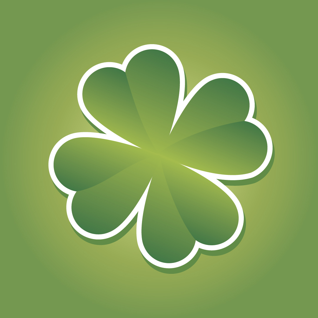 1080x1080 Shamrock Vector Free Download