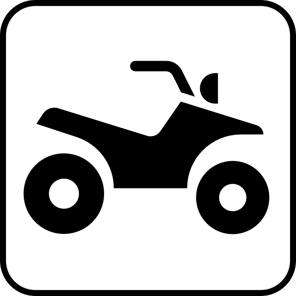 600x600 Atv All Terrain Vehicle Clip Art Free Vector 4vector