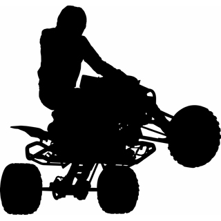 320x320 Free Vector Atv Clipart