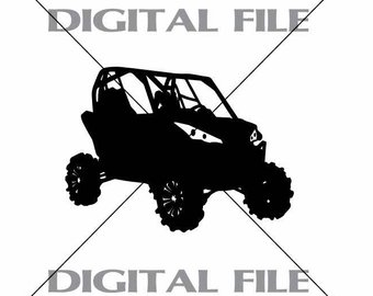 340x270 4 Wheeler Atv Vector Images Vinyl Decal T Shirt Digital Etsy