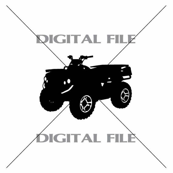 570x570 4 Wheeler Atv Vector Images Vinyl Decal T Shirt Digital
