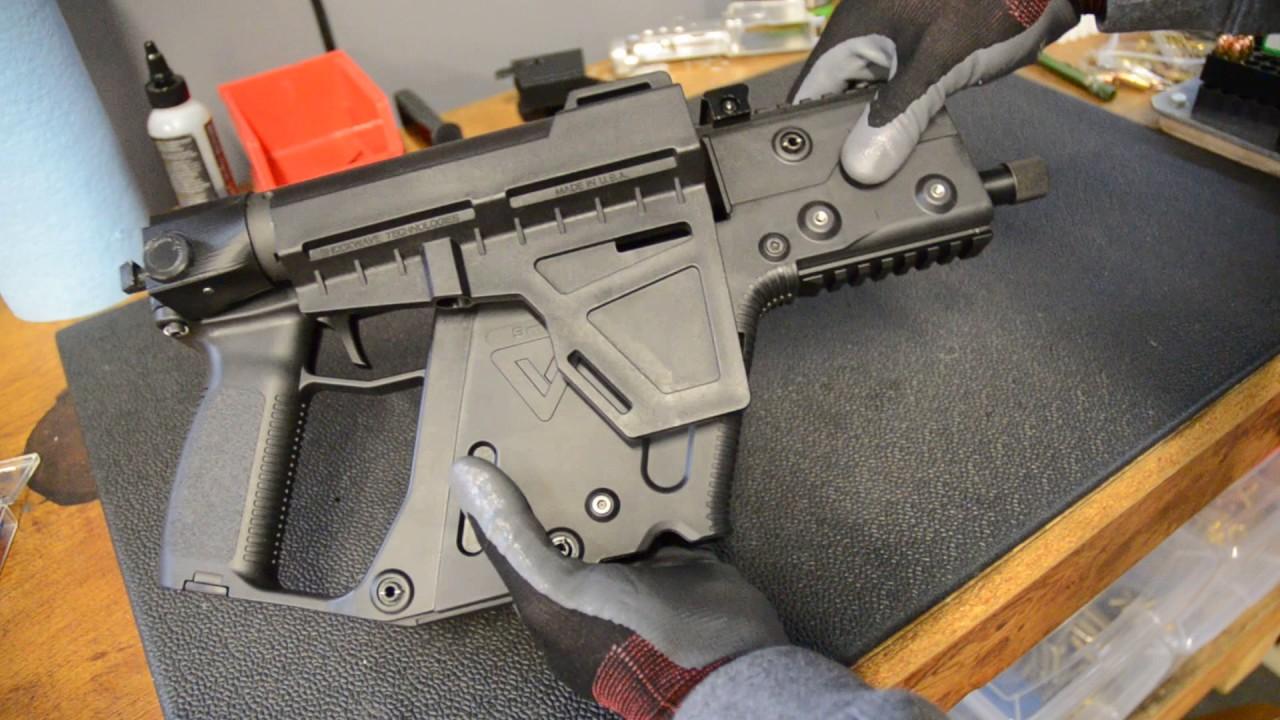 1280x720 Kriss Vector Folding Pistol Brace Adapter
