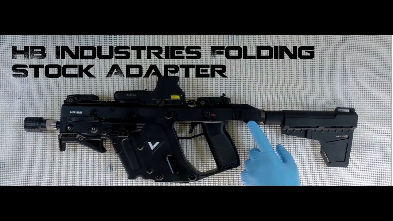 1280x720 Kriss Vector Folding Stock Adapter, Hb Industries, A ! On The Gen