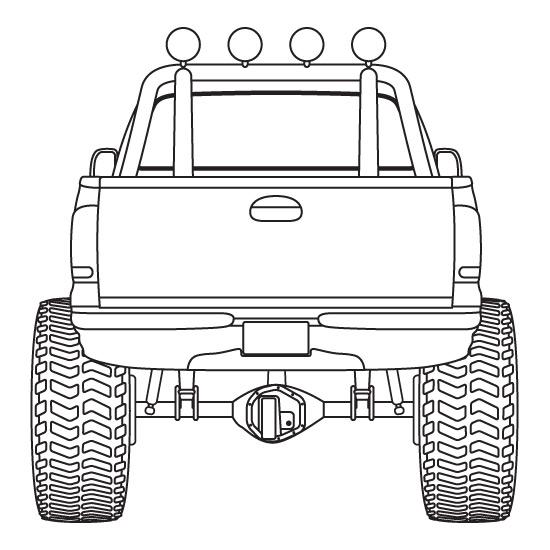 550x550 4x4 Pickup Truck (Design Element) By Pneal