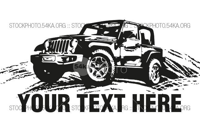 647x431 Jeep Vector Logo Illustration