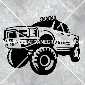 288x288 Pickup Truck Svg Truck Svg 4x4 Svg Pickup Truck Vector Etsy