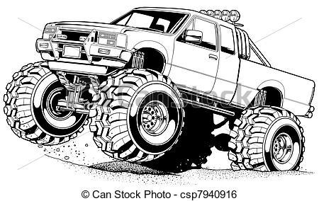 450x284 4 Wheel Drive Clipart