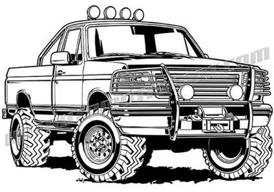 400x280 4x4 Truckss 4x4 Trucks Vector
