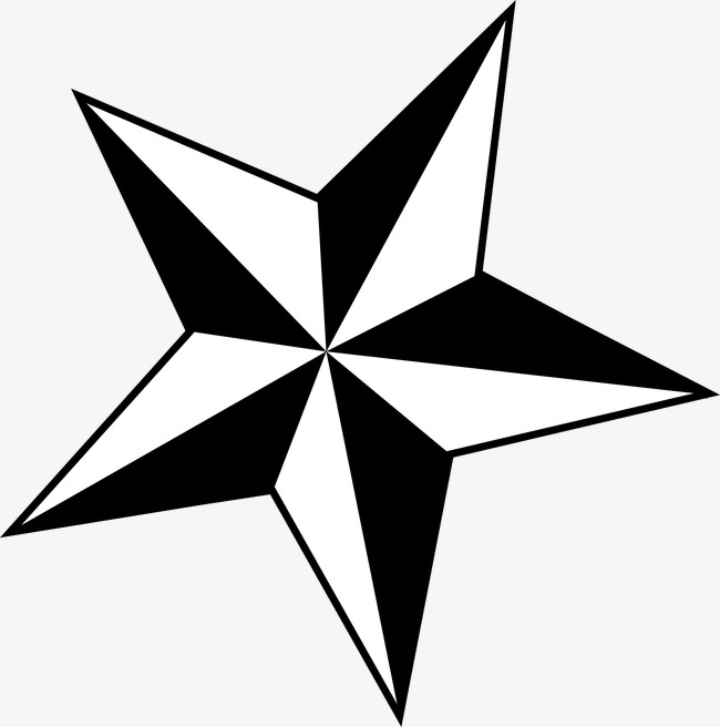 650x656 Five Pointed Star, Star Clipart, Five Pointed Star, Vector Pattern