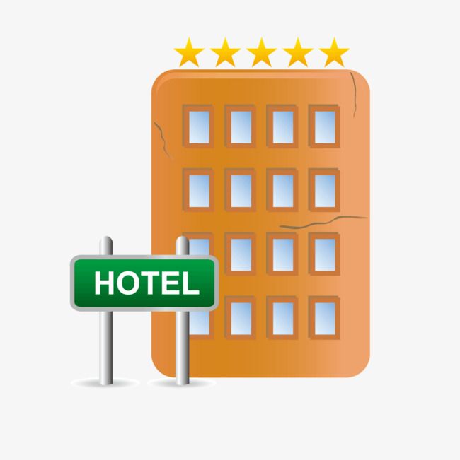650x651 5 Star Hotel Complex Vector, Hotel Vector, Guesthouse, Vector