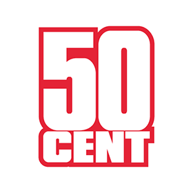 280x280 50 Cent Logo Vector Free Download