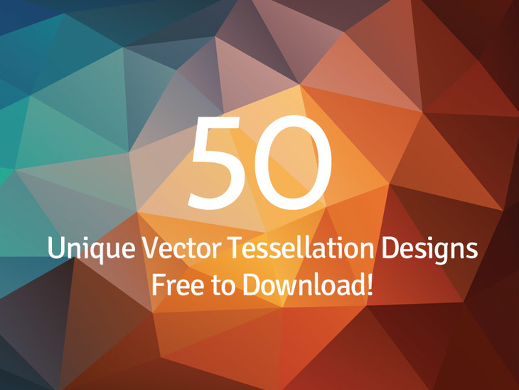 730x548 50 Vector Polygon Backgrounds