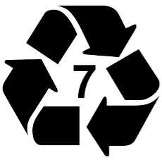 230x230 Free Vector Recycling Symbols
