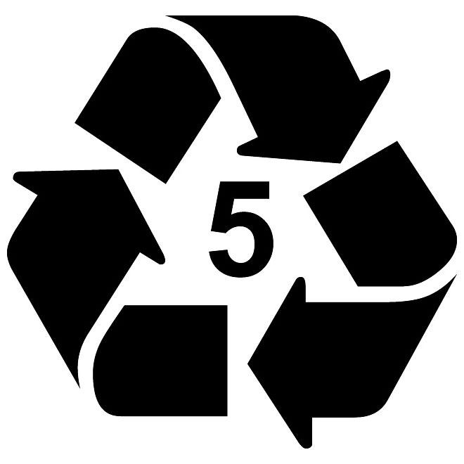 660x660 Recycle Type 7 Vector Symbol