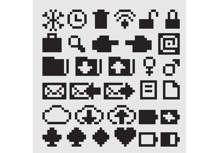 700x490 8 Bit Free Vector Art