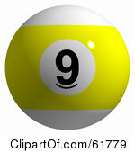 9 Ball Vector