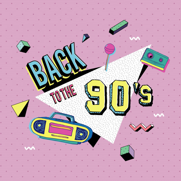626x626 Back To The 90s Memphis Style Vector Premium Download