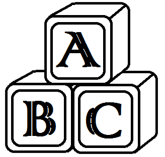 Abc Blocks Vector