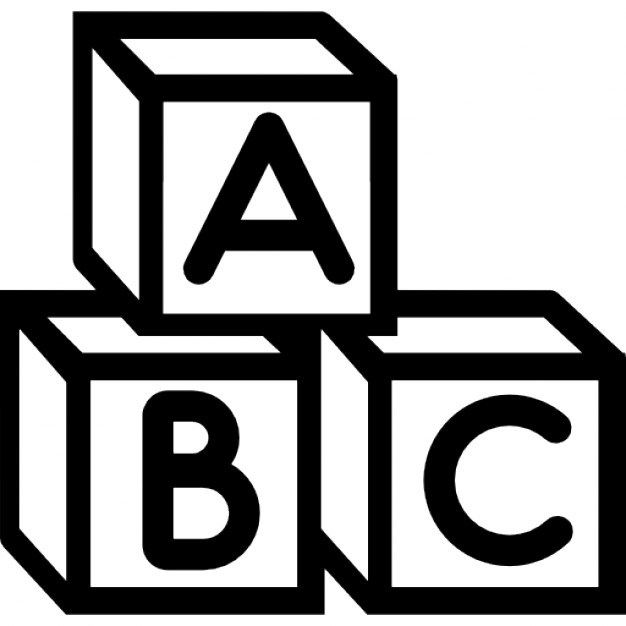 626x626 Baby Abc Cubes Icons Free Download