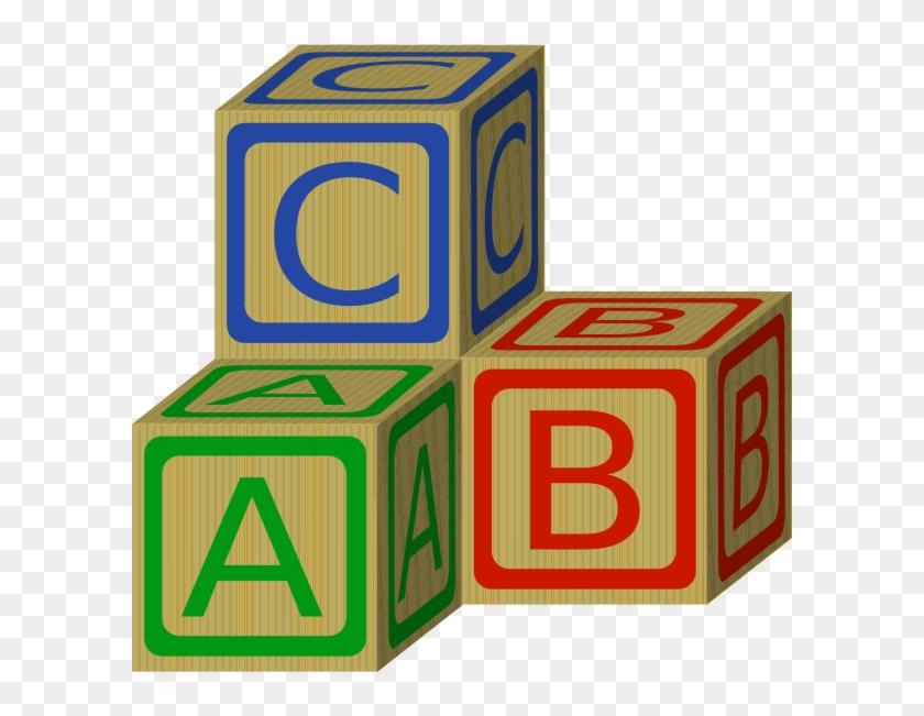 840x651 Abc Blocks Clip Art At Clker Com Vector Clip Art Online