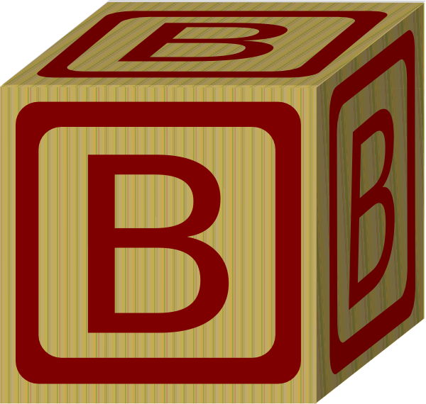600x570 Abc Blocks Clipart