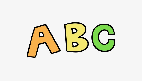600x344 Vector Cartoon Abc, Cartoon Vector, Vector, Cartoon Png And Vector