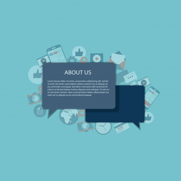 626x626 About Us Concept Vector Free Download