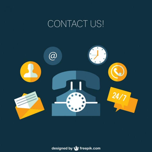 626x626 Contact Us Icons Vector Free Download