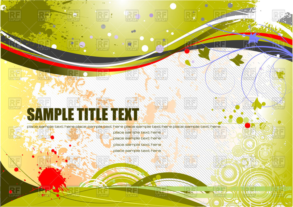 1200x849 Abstract Green And Yellow Grunge Background Vector Image Vector