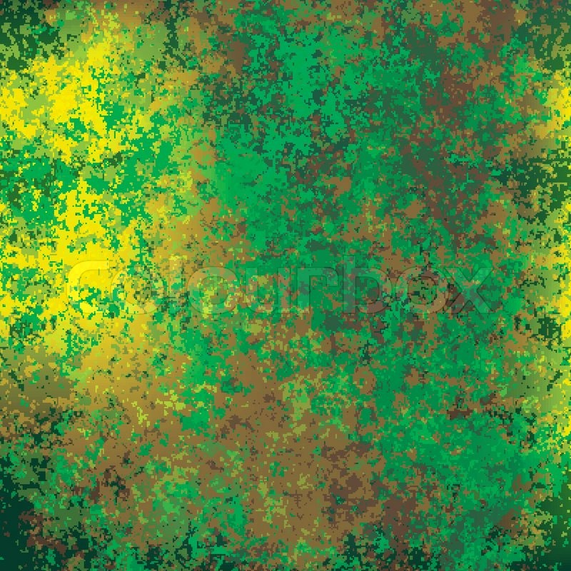 800x800 Abstract Grunge Background Of Rusty Green Texture Stock Vector