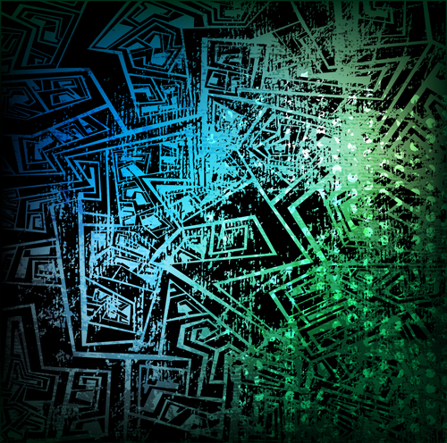 500x496 Abstract Grunge Background Vector Material 03 Free Download
