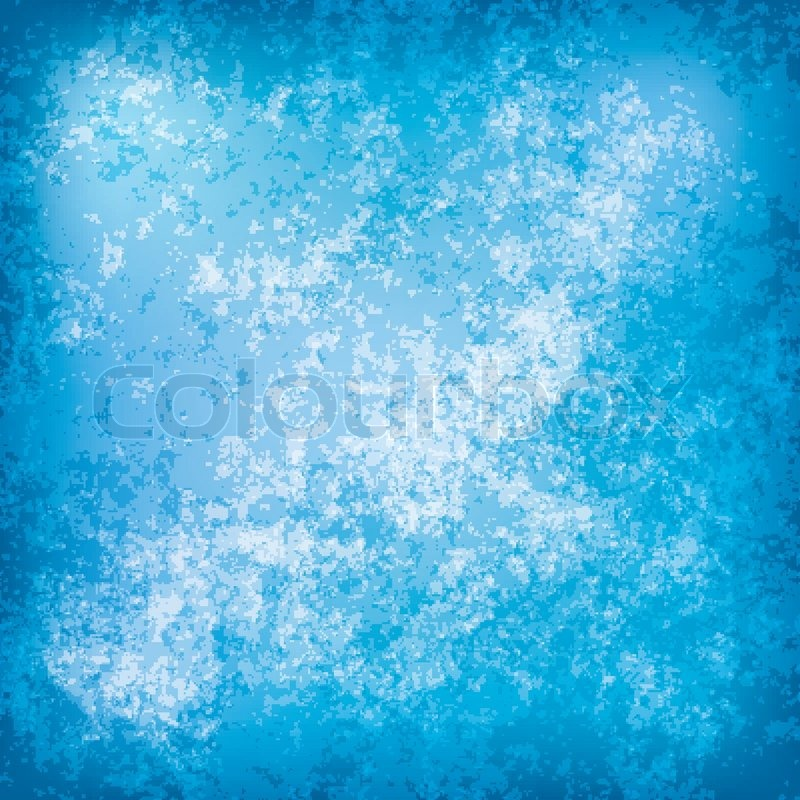800x800 Abstract Grunge Background With Old Blue Wall Stock Vector