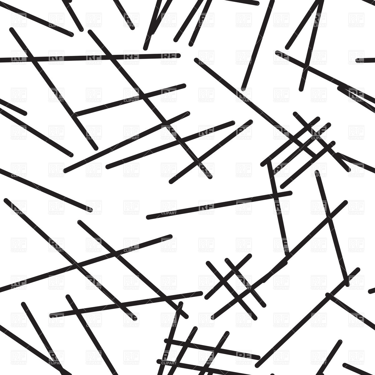 1200x1200 Abstract Black And White Background With Lines Vector Image