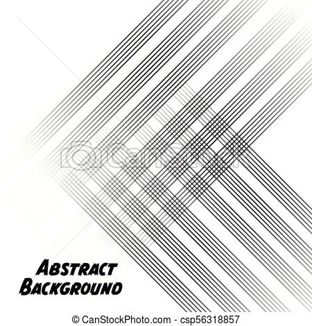 450x470 Black Abstract Lines White Background Vector Image.