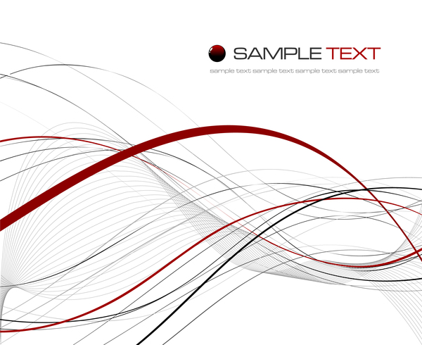 600x490 Black With Red Abstract Lines Vector 01 Free Download