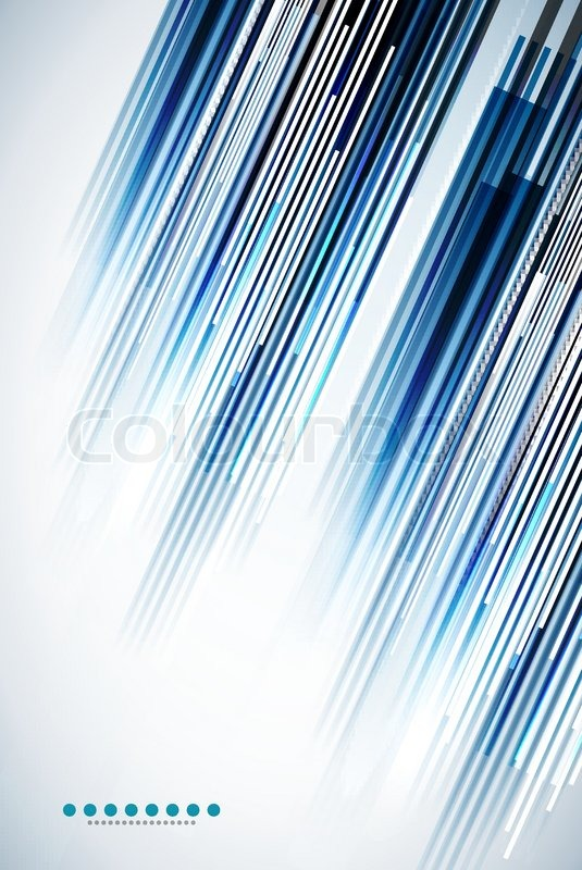535x800 Vector Abstract Illustration Made Of Straight Lines Stock Vector
