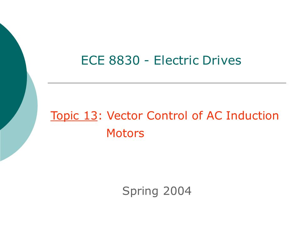 960x720 Ece Electric Drives Topic 13 Vector Control Of Ac Induction