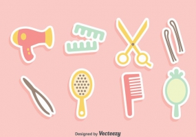 285x200 Hair Accessories Silhouette Vector Free Vector Graphic Art Free