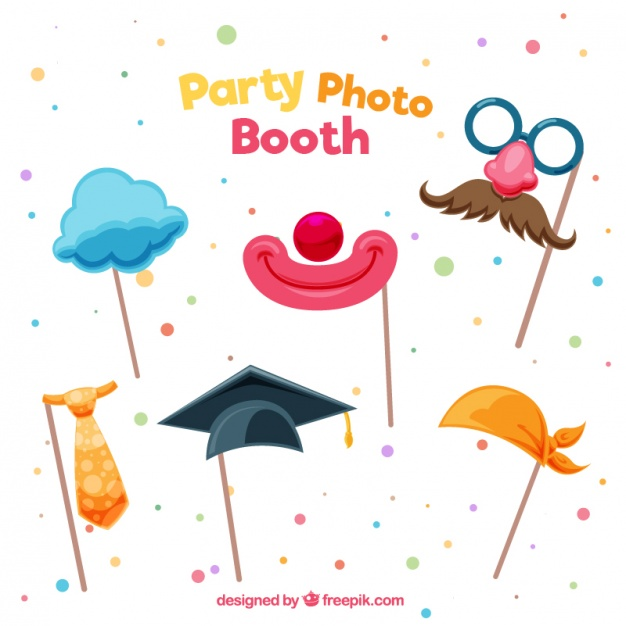 626x626 Nice Party Accessories Vector Free Download